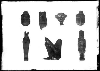<em>Small Figure of a King</em>, 305-30 B.C.E. Glass Brooklyn Museum, Charles Edwin Wilbour Fund, 37.1738E. Creative Commons-BY (Photo: , 37.1147E_37.1148E_37.1157E_37.1283E_37.1736E_37.1738E_37.1745E_GrpA_SL4.jpg)