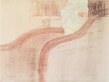 Henri de Toulouse-Lautrec (French, 1864-1901). <em>La Petite Loge</em>, 1897. Lithograph on China paper, 12 3/16 x 9 3/16 in. (30.9 x 23.4 cm). Brooklyn Museum, By exchange, 37.151 (Photo: Brooklyn Museum, 37.151_transp1286.jpg)