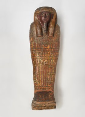 <em>Coffin of Thothirdes</em>, 768-545 B.C.E., or 791-418 B.C.E. Wood, pigment, Coffin Box (approximate): 22 x 7 5/16 x 69 in. (55.9 x 18.5 x 175.3 cm). Brooklyn Museum, Charles Edwin Wilbour Fund, 37.1521Ea-b. Creative Commons-BY (Photo: Brooklyn Museum, 37.1521Eb_PS9.jpg)