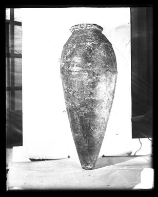 <em>Large Amphora</em>, ca. 4400-3100 B.C.E. Clay Brooklyn Museum, Charles Edwin Wilbour Fund, 37.1612E. Creative Commons-BY (Photo: Brooklyn Museum, 37.1612E_NegA_SL4.jpg)