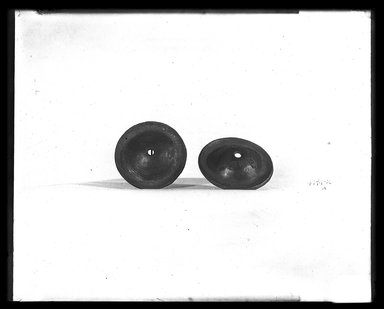 <em>Pair of Small Cymbals?</em>. Bronze Brooklyn Museum, Charles Edwin Wilbour Fund, 37.1793Ea-b. Creative Commons-BY (Photo: Brooklyn Museum, 37.1793Ea-b_NegA_SL4.jpg)