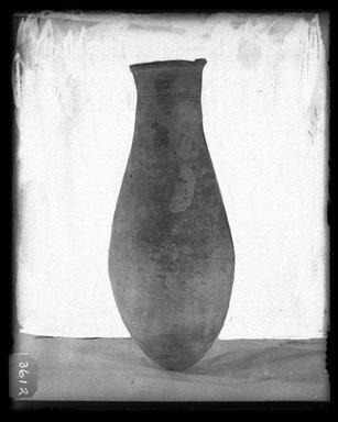 <em>Large Jar</em>, ca. 1630-1075 B.C.E. Clay Brooklyn Museum, Charles Edwin Wilbour Fund, 37.1842E. Creative Commons-BY (Photo: Brooklyn Museum, 37.1842E_NegA_SL4.jpg)