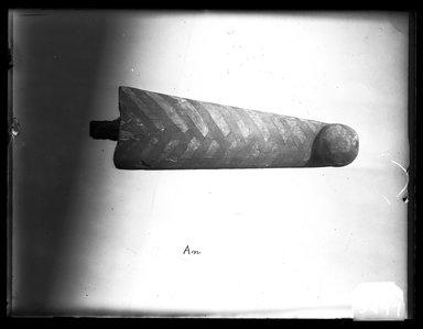 <em>Beard from a Coffin</em>, ca. 1075-712 B.C.E. Wood, pigment, 6 1/2 x 2 1/4 x 1 1/4 in. (16.5 x 5.7 x 3.2 cm). Brooklyn Museum, Charles Edwin Wilbour Fund, 37.2041.14E. Creative Commons-BY (Photo: Brooklyn Museum, 37.2041.14E_NegA_SL4.jpg)