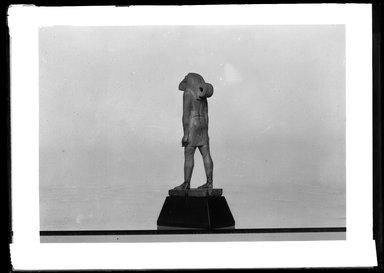 <em>Ibis-Headed Thoth</em>, ca. 1539-1292 B.C.E. Ivory, 2 7/16 x 11/16 x 7/8 in. (6.2 x 1.8 x 2.3 cm). Brooklyn Museum, Charles Edwin Wilbour Fund, 37.255E. Creative Commons-BY (Photo: Brooklyn Museum, 37.255E_NegA_SL4.jpg)