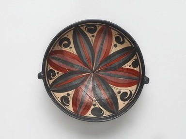 Tonala. <em>Dish</em>, 19th century. Ceramic, pigment, 2 1/4 x 7 13/16 x 7 5/16 in. (5.7 x 19.8 x 18.6 cm). Brooklyn Museum, Frank Sherman Benson Fund and the Henry L. Batterman Fund, 37.2945PA. Creative Commons-BY (Photo: , 37.2945PA_PS9.jpg)
