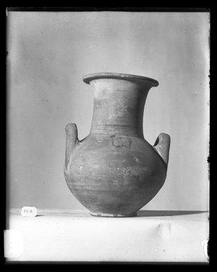 <em>Two-Handled Jug</em>. Clay Brooklyn Museum, Charles Edwin Wilbour Fund, 37.345E. Creative Commons-BY (Photo: Brooklyn Museum, 37.345E_NegA_SL4.jpg)