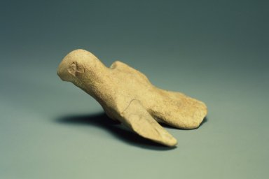 Indus Valley Culture. <em>Small Model of a Bird</em>, 3000-2500 B.C.E. Reddish pottery, 2 13/16 x 3 15/16 in. (7.2 x 10 cm). Brooklyn Museum, A. Augustus Healy Fund, 37.42. Creative Commons-BY (Photo: Brooklyn Museum, 37.42.jpg)