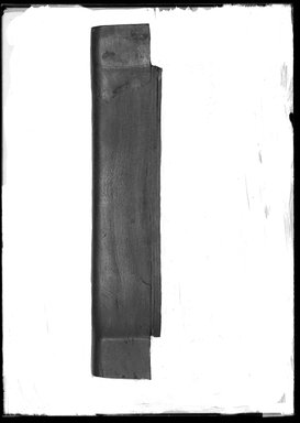 <em>Top of Chair Back</em>, ca. 1539-1075 B.C.E. Wood, 3 1/4 x 1 3/4 x 16 3/8 in. (8.3 x 4.5 x 41.6 cm). Brooklyn Museum, Charles Edwin Wilbour Fund, 37.445E. Creative Commons-BY (Photo: Brooklyn Museum, 37.445E_NegA_SL4.jpg)