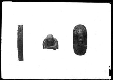 <em>Small Scarab Seal Bearing the Cartouche of Ramses Vth</em>. Serpentine or jasper, 5/16 x 9/16 x 11/16 in. (0.8 x 1.4 x 1.7 cm). Brooklyn Museum, Charles Edwin Wilbour Fund, 37.511E. Creative Commons-BY (Photo: , 37.511E_37.866E_37.1118E_GrpA_SL4.jpg)