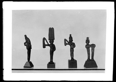 <em>Small Statuette of Osiris</em>. Bronze Brooklyn Museum, Charles Edwin Wilbour Fund, 37.685E. Creative Commons-BY (Photo: , 37.680E_37.681E_37.683E_37.685E_GrpA_SL4.jpg)