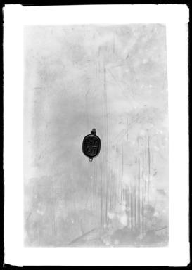 <em>Ring Inscribed for Amunhotep II</em>, ca. 1426-1400 B.C.E. Gold, 13/16 × 1/2 × 9/16 × 5/8 in., 0.3 lb. (2 × 1.2 × 1.5 × 1.6 cm, 0.13kg). Brooklyn Museum, Charles Edwin Wilbour Fund, 37.725E. Creative Commons-BY (Photo: Brooklyn Museum, 37.725E_NegA_SL4.jpg)