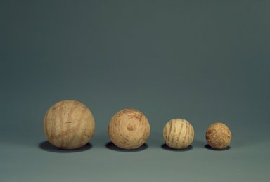 Indus Valley Culture. <em>Small Toy Rattle</em>, 3000-2500 B.C.E. Reddish pottery, 1 1/4 in. (3.2 cm). Brooklyn Museum, A. Augustus Healy Fund, 37.80. Creative Commons-BY (Photo: , 37.77_37.78_37.79_37.80.jpg)