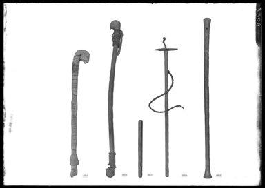 <em>Plain Key</em>, ca. 1539-1190 B.C.E. Wood, Diam. 1/2 × 6 15/16 in. (1.3 × 17.7 cm). Brooklyn Museum, Charles Edwin Wilbour Fund, 37.461E. Creative Commons-BY (Photo: , 37.88E_37.274E_37.461E_37.276E_37.27E_GrpA_SL4.jpg)