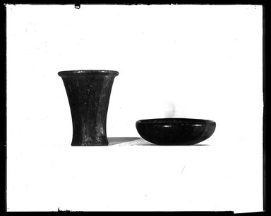 <em>Small Serpentine Dish</em>. Serpentine, 15/16 x Diam. 3 3/16 in. (2.4 x 8.1 cm). Brooklyn Museum, Charles Edwin Wilbour Fund, 37.1578E. Creative Commons-BY (Photo: , 37.95E_37.1578E_NegA_SL4.jpg)