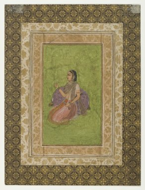 <em>Miniature Painting</em>, 18th-19th century. Painting, 19 1/8 x 14 7/8 in. (48.5 x 37.8 cm). Brooklyn Museum, Gift of Mrs. George Dupont Pratt, 40.367 (Photo: Brooklyn Museum, 40.367_recto_IMLS_PS4.jpg)