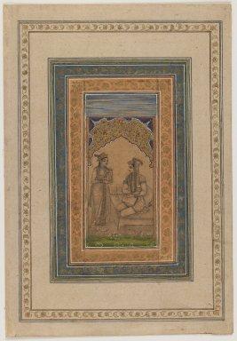 <em>Miniature Painting</em>, 18th century. Painting, 19 1/8 x 14 7/8 in. (48.5 x 37.8 cm). Brooklyn Museum, Gift of Mrs. George Dupont Pratt, 40.369 (Photo: Brooklyn Museum, 40.369_recto_IMLS_PS3.jpg)