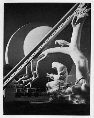 Dr. Drahomir Josef Ruzicka (American, born Czech Republic, 1870-1960). <em>The Thread of Life</em>. Photograph, 14 × 11 in. (35.6 × 27.9 cm). Brooklyn Museum, Gift of the artist, 40.562 (Photo: Brooklyn Museum, 40.562_bw.jpg)