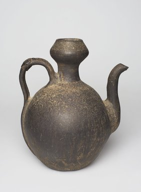 <em>Ewer</em>, 12th-13th century. Stoneware, H: 9 9/16 x W: 8 1/4 in. (24.3 x 21 cm). Brooklyn Museum, Gift of Sir George Sanson, 40.722. Creative Commons-BY (Photo: , 40.722_PS11.jpg)