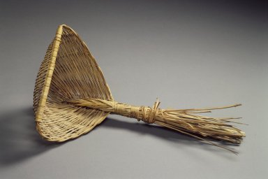 <em>Strainer (Jori)</em>, early 20th century. Bamboo, 15 3/4 x 8 1/4 in. (40 x 21 cm). Brooklyn Museum, Brooklyn Museum Collection, 40.928.9. Creative Commons-BY (Photo: Brooklyn Museum, 40.928.9.jpg)