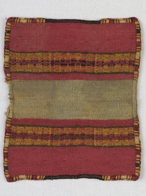Inca. <em>Miniature Mantle</em>, 1400-1532. Camelid fiber, 5 1/2 x 4 3/4in. (14 x 12cm). Brooklyn Museum, Museum Expedition 1941, Frank L. Babbott Fund, 41.1275.110. Creative Commons-BY (Photo: , 41.1275.110_PS9.jpg)