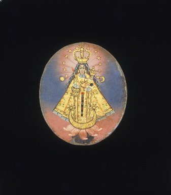 <em>Painted Medallion