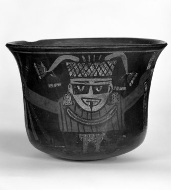 <em>Bowl with Rounded Bottom and High Sides</em>. Pottery Brooklyn Museum, Museum Expedition 1941, Frank L. Babbott Fund, 41.1275.65. Creative Commons-BY (Photo: Brooklyn Museum, 41.1275.65_bw.jpg)