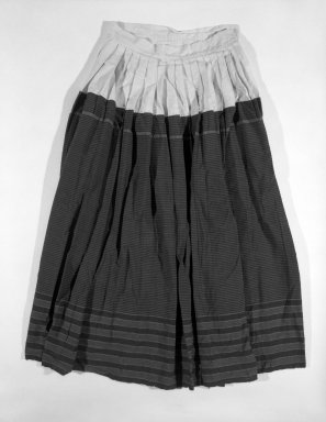 Otomi. <em>Skirt</em>. Cotton Brooklyn Museum, Museum Expedition 1941, Ella C. Woodward Memorial Fund, 41.1310.2a. Creative Commons-BY (Photo: Brooklyn Museum, 41.1310.2a_bw.jpg)