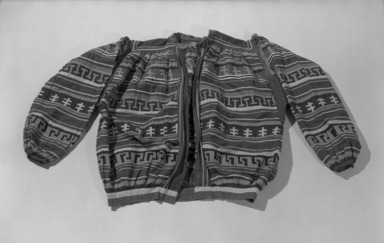 Seminole. <em>Man's Shirt</em>, ca. 1940. Cotton, 26 9/16 x 38 9/16 in. (67.5 x 97.9 cm). Brooklyn Museum, A. Augustus Healy Fund, 41.224. Creative Commons-BY (Photo: Brooklyn Museum, 41.224_acetate_bw.jpg)