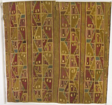 Wari. <em>Tunic</em>, 650-1000. Cotton, camelid fiber, 40 3/16 x 43 11/16 in. (102 x 111 cm). Brooklyn Museum, A. Augustus Healy Fund, 41.229. Creative Commons-BY (Photo: , 41.229_PS9.jpg)