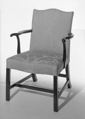 American. <em>Armchair</em>. Brooklyn Museum, Gift of Luke Vincent Lockwood, 41.710. Creative Commons-BY (Photo: Brooklyn Museum, 41.710_bw.jpg)