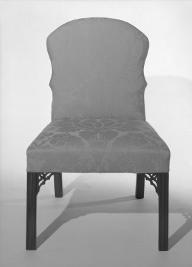 American. <em>Side Chair</em>. Brooklyn Museum, Gift of Luke Vincent Lockwood, 41.711. Creative Commons-BY (Photo: Brooklyn Museum, 41.711_bw.jpg)