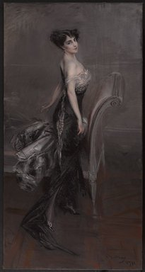 Giovanni Boldini (Italian, 1842-1931). <em>Portrait of a Lady</em>, 1912. Oil on canvas