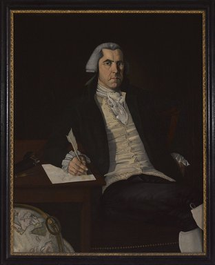 John Mason Furness (American, 1763-1804). <em>John Vinall</em>, ca. 1792. Oil on canvas, 49 5/16 x 39 7/16 in. (125.2 x 100.2 cm). Brooklyn Museum, Dick S. Ramsay Fund, 41.878 (Photo: Brooklyn Museum, 41.878_PS9.jpg)