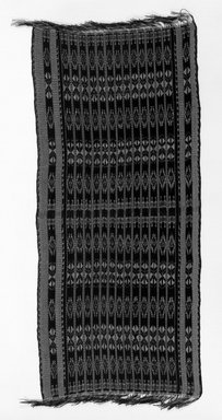 Savo Islander. <em>Shawl</em>. Cotton ikat Brooklyn Museum, Dick S. Ramsay Fund, 45.183.113. Creative Commons-BY (Photo: Brooklyn Museum, 45.183.113_bw.jpg)