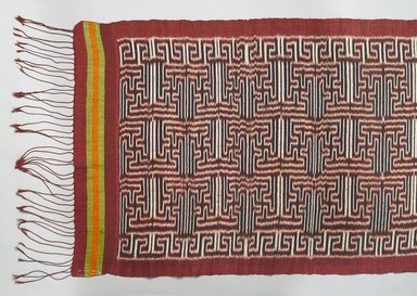 <em>Slendang</em>, 19th or early 20th century. Silk, 20 1/16 × 111 1/2 in. (51 × 283.2 cm). Brooklyn Museum, Dick S. Ramsay Fund, 45.183.91. Creative Commons-BY (Photo: , 45.183.91_detail_PS9.jpg)