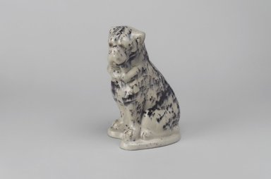 American. <em>Ornament in Form of Dog</em>, 19th century. Earthenware, 6 1/2 x 3 x 4 1/8 in. (16.5 x 7.6 x 10.5 cm). Brooklyn Museum, Gift of Mrs. Franklin Chace, 45.76.1. Creative Commons-BY (Photo: Brooklyn Museum, 45.76.1.jpg)