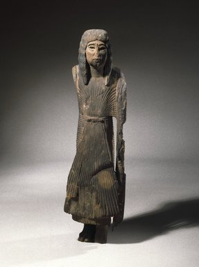 <em>Sa-Iset the Younger</em>, ca. 1279-1203 B.C.E. Wood, 22 1/2 x 6 x 6 1/2 in. (57.2 x 15.2 x 16.5 cm). Brooklyn Museum, Charles Edwin Wilbour Fund, 47.120.2. Creative Commons-BY (Photo: Brooklyn Museum, 47.120.2_SL1.jpg)