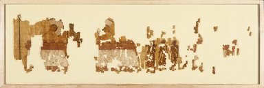 <em>The Brooklyn Oracle Papyrus</em>, October 4, 651 B.C.E. Papyrus, pigment, ink, Overall: 10 15/16 × 210 5/16 in. (27.8 × 534.2 cm). Brooklyn Museum, Bequest of Theodora Wilbour from the collection of her father, Charles Edwin Wilbour, 47.218.3a-j (Photo: Brooklyn Museum, 47.218.3a-j_SL1.jpg)