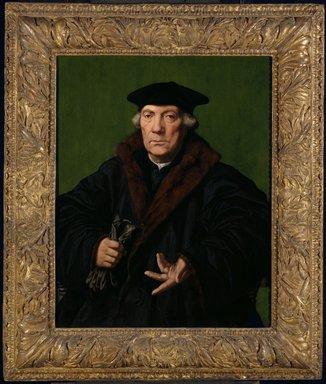 Jan Cornelisz. Vermeyen (Dutch, 1500-1559). <em>Portrait of Jean de Carondelet</em>, ca. 1530. Oil on panel, 30 3/4 x 24 1/2 in. (78.1 x 62.2 cm). Brooklyn Museum, Gift of Horace O. Havemeyer, 47.76 (Photo: Brooklyn Museum, 47.76_framed_SL3.jpg)
