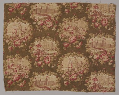 """Unknown. <em>Textile, """"Labor is Honorable,""""</em> ca. 1880. Cotton, 19 x 24 in. (48.3 x 61 cm). Brooklyn Museum, Museum Collection Fund, 48.117.1 (Photo: Brooklyn Museum, 48.117.1_PS9.jpg)"""
