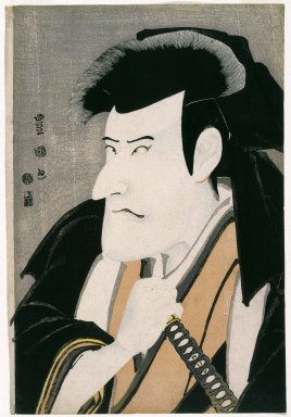 Utagawa Toyokuni I (Japanese, 1769-1825). <em>Actor Ichikawa Komazō III</em>, 1797. Color woodblock print on paper, 14 11/16 x 9 15/16 in. (37.3 x 25.2 cm). Brooklyn Museum, Gift of Louis V. Ledoux, 48.15.4 (Photo: Brooklyn Museum, 48.15.4_IMLS_SL2.jpg)