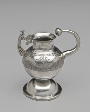 <em>Maté Cup</em>, 18th-19th century. Silver, 4 1/4 x 3 15/16 x 2 9/16 in. (10.8 x 10 x 6.5 cm). Brooklyn Museum, Frank L. Babbott Fund, Frank Sherman Benson Fund, Carll H. de Silver Fund, A. Augustus Healy Fund, Caroline A.L. Pratt Fund, Charles Stewart Smith Memorial Fund, and Ella C. Woodward Memorial Fund, 48.206.65. Creative Commons-BY (Photo: Brooklyn Museum, 48.206.65_PS6.jpg)