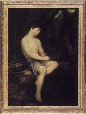 Washington Allston (American, 1799-1843). <em>Italian Shepherd Boy</em>, ca. 1821-1823. Oil on canvas, 46 7/8 x 33 9/16 in. (119 x 85.3 cm). Brooklyn Museum, Dick S. Ramsay Fund, 49.97 (Photo: Brooklyn Museum, 49.97_transp1791.jpg)