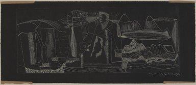 Worden Day (American, 1916-1986). <em>Prima Vera</em>, 1949. Engraving, 7 15/16 x 19 11/16 in. (20.1 x 50 cm). Brooklyn Museum, Dick S. Ramsay Fund, 50.21. © artist or artist's estate (Photo: , 50.21_PS9.jpg)