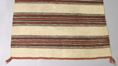 Navajo. <em>Blanket</em>, 1900. Wool, dye, 50 x 78in. (127 x 198.1cm). Brooklyn Museum, Henry L. Batterman Fund and the Frank Sherman Benson Fund, 50.67.47. Creative Commons-BY (Photo: Brooklyn Museum, 50.67.47_view1_PS5.jpg)