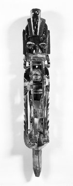 Malagan. <em>Grave Figure</em>. Brooklyn Museum, Gift of John W. Vandercook, 51.118.2. Creative Commons-BY (Photo: Brooklyn Museum, 51.118.2_bw.jpg)