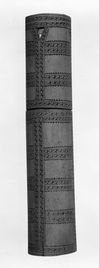 Solomon Islander. <em>Lime Box</em>. Bamboo Brooklyn Museum, Gift of John W. Vandercook, 51.140.26. Creative Commons-BY (Photo: Brooklyn Museum, 51.140.26_bw.jpg)