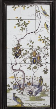 <em>Bristol Tiles</em>. Polychrome ceramic Brooklyn Museum, Gift of Luke Vincent Lockwood and gift of The Rembrandt Club, by exchange, 51.16. Creative Commons-BY (Photo: Brooklyn Museum, 51.16_view1_PS2.jpg)