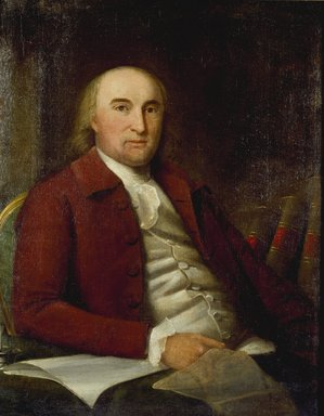 Ralph Earl (American, 1751-1801). <em>Robert Boyd</em>, 1788. Oil on canvas, 33 1/2 x 26 15/16 in. (85.1 x 68.4 cm). Brooklyn Museum, Gift of Mary van Kleeck in memory of Charles M. van Kleeck, 51.193.1 (Photo: Brooklyn Museum, 51.193.1_SL3.jpg)