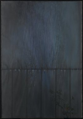Loren MacIver (American, 1909-1998). <em>Fire Escape</em>, ca. 1951. Oil on canvas, 48 x 33 in.  (121.9 x 83.8 cm). Brooklyn Museum, John B. Woodward Memorial Fund, 51.210. © artist or artist's estate (Photo: Brooklyn Museum, 51.210_PS1.jpg)